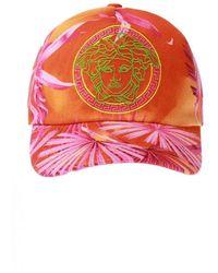 Versace Baseball Cap With Logo - Oranje