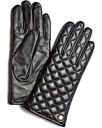 Guess Leather Gloves - Zwart