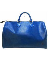 Louis Vuitton Speedy 35 - Blu
