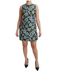 Dolce & Gabbana - Gown Shift Dress - Lyst