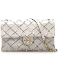 Chanel Turnlock Timeless bag - Weiß