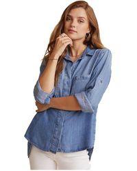 Bella Dahl Denim shirt - Bleu