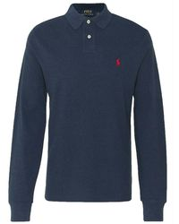 Ralph Lauren Polo Slim Fit - Blauw