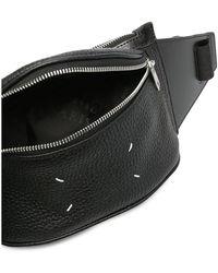 Maison Margiela Belt BAG Grain Leather Negro