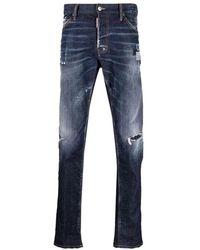DSquared² S71lb0937 Pants - Blauw