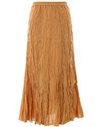 Mes Demoiselles Skirt Mdpw00012 - Oranje