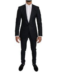 Dolce & Gabbana - Slim Fit Wol Suit - Lyst