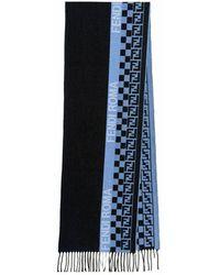 Fendi Men's Fxs124ah8af1f6c Scarf - Blauw