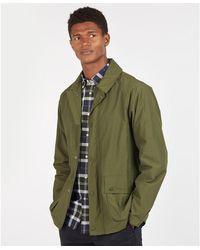 Barbour Laslo jacket Verde
