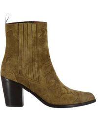 Sartore Cowboy Boots Sr3265 - Groen