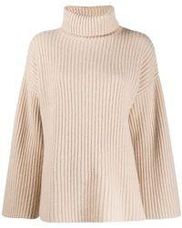 Allude Turtle Sweater - Naturel