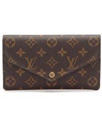 Louis Vuitton Tweedehands Jeanne Portemonnee M62155 - Bruin