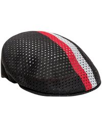 Kangol Mesh Stripe 504 Cap - Zwart