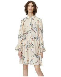 Munthe Robe Sofia Dress - Neutro