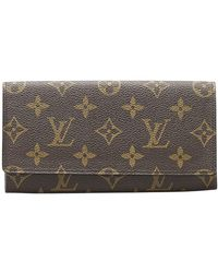 Louis Vuitton Monogramme Porto Portefeuille long - Marron