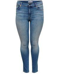 Only Carmakoma Carmaya Shape Jeans - Blauw