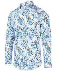 BLUE INDUSTRY Overhemd 2046.21 - Blauw