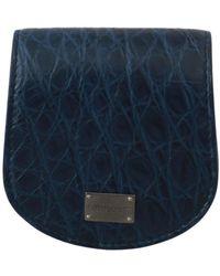 Dolce & Gabbana Holder Pocket Wallet - Bleu