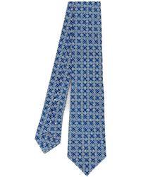 Kiton Cravatta - Blauw
