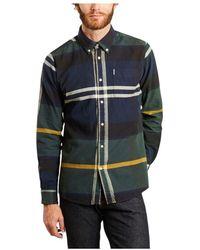 Barbour Tartan 7 Toegesneden Overhemd - Groen
