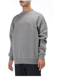 Daily Paper Mock Neck Sweatshirt Gris