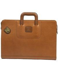 Burberry Gebrauchte Vintage Aktentasche - Braun