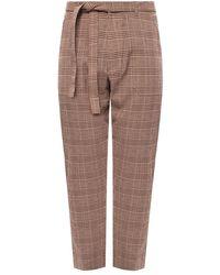 Nanushka Checked Trousers - Bruin