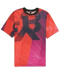 Y-3 T-shirt - Rood