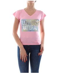 Bomboogie Tw5822 T Jsel T Shirt AND Tank Women Rose - Rosa