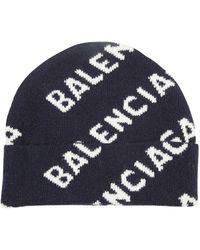 Balenciaga Beanie - Blauw