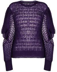 Alberta Ferretti - Sweater - Lyst