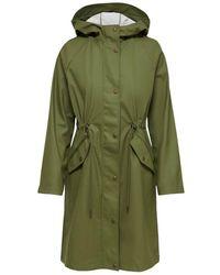 ONLY Raincoat - Groen