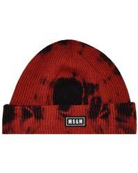 MSGM Cappello - Rood