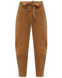 Ulla Johnson 'Carmen' high-waisted trousers - Neutre