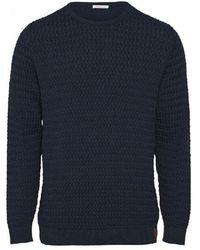 Knowledge Cotton Apparel Sweatshirt - Field - Blauw