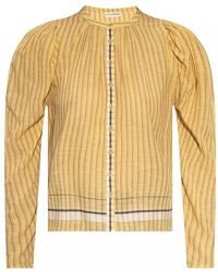 Ulla Johnson Pinstriped Shirt - Geel