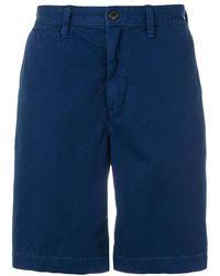 Polo Ralph Lauren Flat Front Shorts - Blauw