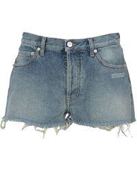 Fefe Shorts Owyc002E20Den002 - Blau