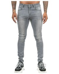 MALELIONS Clean Jeans - Grigio