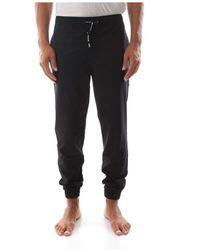 Calvin Klein Ck Performance 00gms8p606 Woven Pant Pants Longwear Men Black - Zwart
