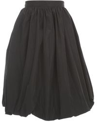 Patou Generous Skirt - Zwart