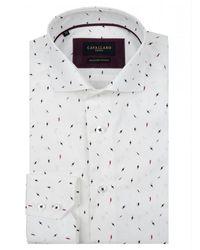 Cavallaro Lightning shirt - Bianco