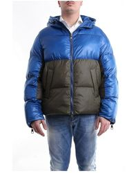 Neil Barrett Bsp528vp184c Short Jacket - Blauw