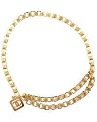 Chanel Vintage Square Belt Chain - Bruin