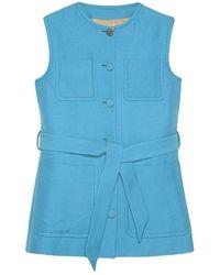 Gucci Vest Jacket - Blauw