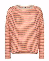 Mos Mosh Helsa knit - Naranja