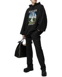 Balenciaga Sacre Coeur Hoodie Negro