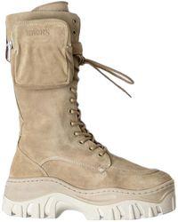 Bronx Veter Boots - Bruin