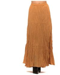 Mes Demoiselles Skirt Chira Ocre - Oranje