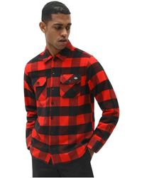 Dickies Camicia - Rouge